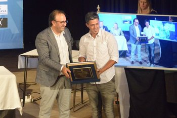 Jorge Casales y Fabián Canobbio