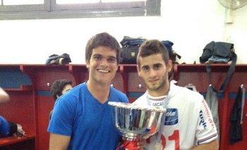 Gabriel Araújo con Pereiro<br>