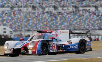 El Ligier LMP2 en el que Alonso corrió en Daytona