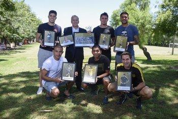 Los premiados de Peñarol en 2017