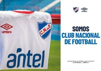 La nueva camiseta 2018 de Nacional