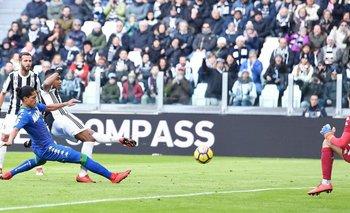 Mauricio Lemos debutó en Sassuolo ante Juventus