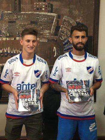 Facundo Waller y Gino Peruzzi<br>