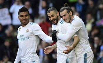 Benzema y Bale marcaron en la goleada de Real Madrid ante Alavés<br>
