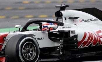 Romain Grosjean en el HAAS F1