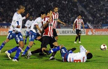 Nacional - Estudiante en la Libertadores de 2009<br>