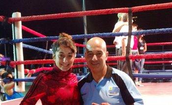 Melanie Ubriaco y Roberto Larrañaga
