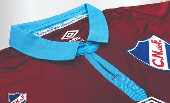 La camiseta de Nacional en homenaje a Abdón Porte