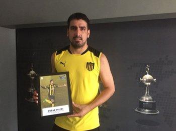Lucas Viatri mejor extranjero del Campeonato Uruguayo 2017 en Fútbolx100