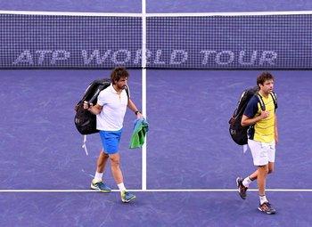 El jueves Cuevas y Zeballos fueron eliminados de Indian Wells en dobles<br>