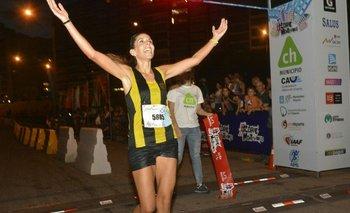 Natalie Bengoa, la ganadora.<br>
