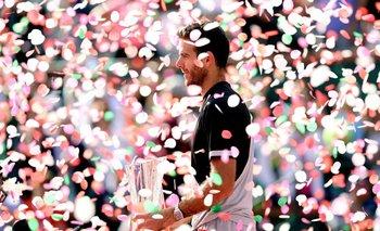 Juan Martín Del Potro ganó su primer Masters 1000 al vencer a Federer en Indian Wells<br>
