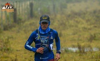 Richard Sosa en la Race Animas Canteras de las Sierras 2018