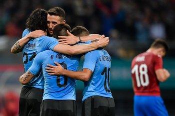 Uruguay venció a República Checa en la China Cup