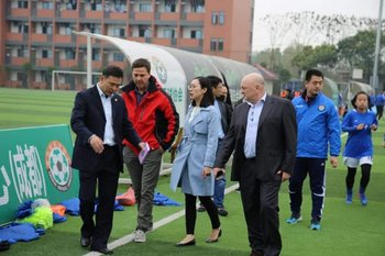 La delegación uruguaya en China