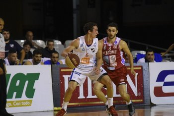 Mateo Sarni y Gonzalo Rivas