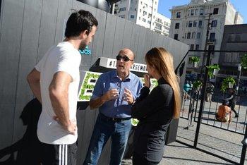El intendente Daniel Martínez dijo presente en la Maratón de Montevideo