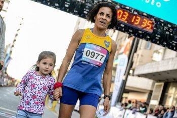 Rossana Motta tras lograr el tercer puesto