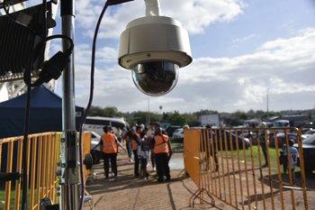 Las cámaras en los accesos al Tróccoli