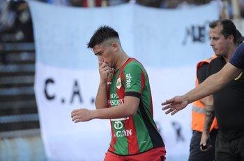 Mauro Brasil se fue expulsado