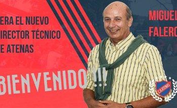 Miguel Falero es el nuevo DT de Atenas