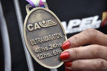 Las medallas finishers para los ultras