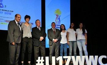 Lanzamiento de la sede de Colonia para el Mundial Femenino Sub 17