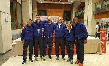 La delegación uruguaya para el Mundial de Penyagolosa
