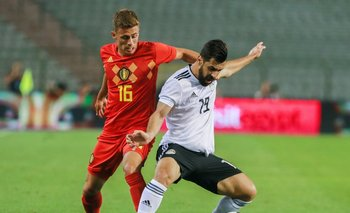 Egípto fue goleado por Bélgica <br>