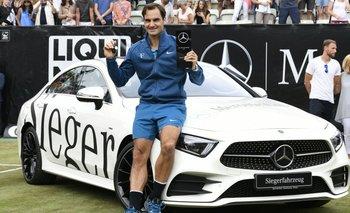Roger Federer, nuevamente en lo más alto del ranking de ATP<br>