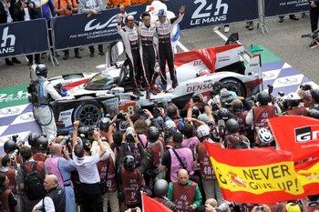 En la mítica prueba de las 24 horas de Le Mans, Fernando Alonso logró la victoria<br>
