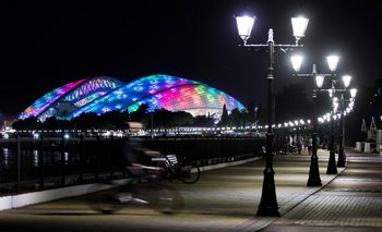 El Estadio Olímpico Fisht de Sochi