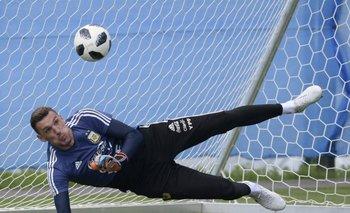 Armani será el arquero argentino ante Nigeria