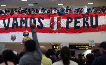 Resultado de imagen para LLEGO PERU A SU PAIS CON UN GRAN RECIBIMIENTO