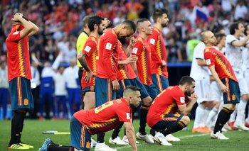España se despidió en octavos