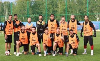 El equipo de Suárez pasó al frente en Rusia