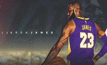 Así presentaron los Lakers a LeBron
