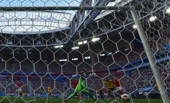El gol de Hazard a Inglaterra