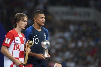 Modric y Mbappé