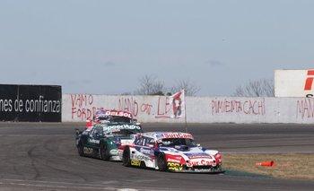 <div> Así corrió el uruguayo: 25 vueltas aguantando al campeón</div>