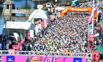 La largada de la Half Maratón 2018