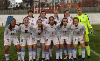 La selección sub 17 de Uruguay