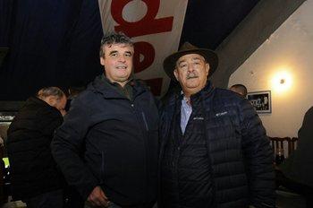 Javier Gomensoro y Raúl Giuria<br>