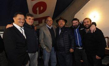 Raúl Giuria con Morgan Martínez<br>