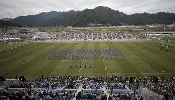 El estadio tiene capacidad para 6.000 espectadores pero será ampliado cuando jueguen Los Teros