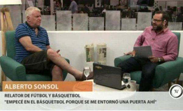 """Sonsol: """"Soy de Peñarol, sería más sano que los periodistas dijeran su cuadro"""""""