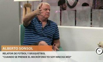 """Entrevista completa con el relator de fútbol y básquetbol, Alberto Sonsol, quien repasó su trayectoria y habló de la actualidad de ser relator.<br>""""Nunca tuve problema en decir que soy de Peñarol. Cuando se prende el micrófono soy hincha mío"""", indicó durante la charla en la que también se refirió a la violencia en el fútbol y a los desafíos de ser judío en Uruguay.<br><br>"""