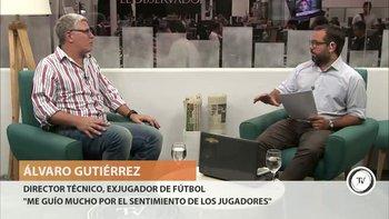 """El ex director técnico de Nacional, Álvaro Gutiérrez, contó cómo vivió el clásico en el que con gol de Álvaro """"Chino"""" Recoba los tricolores dieron vuelta el resultado. """"Como entrenador nunca había gritado un gol como ese"""", dijo Gutiérrez.<br><br>"""