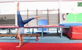 <p>La postura, la posición de las manos y la firmeza son algunas cosas a tener en cuenta según la gimnasta Débora Reis</p><p></p>
