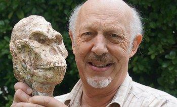 El responsable del descubrimiento con el cráneo de Little Foot